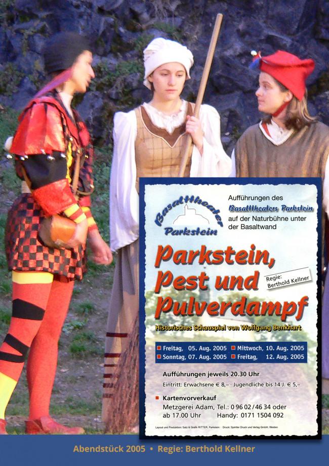 Parkstein, Pest und Pulverdampf