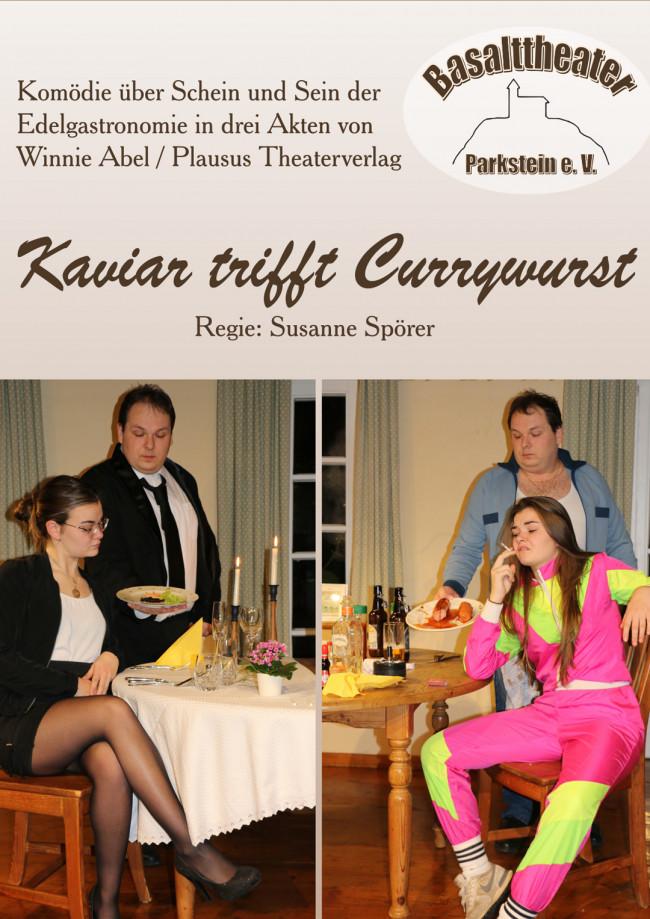 Kaviar trifft Currywurst